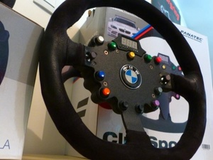 Le ClubSport Wheel V1 de FANATEC