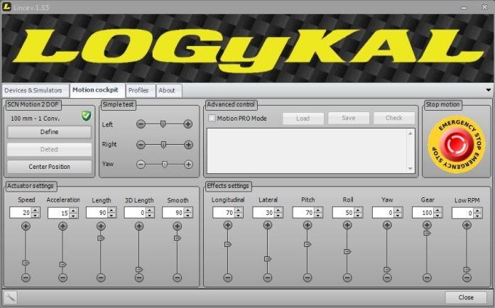 Le logiciel LINCE de Logykal
