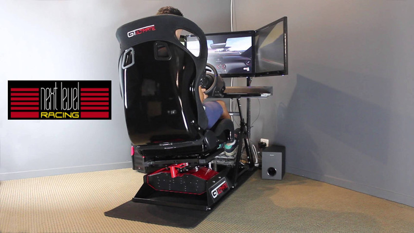 "La plateforme ""Motion V2"" de Next Level Racing"