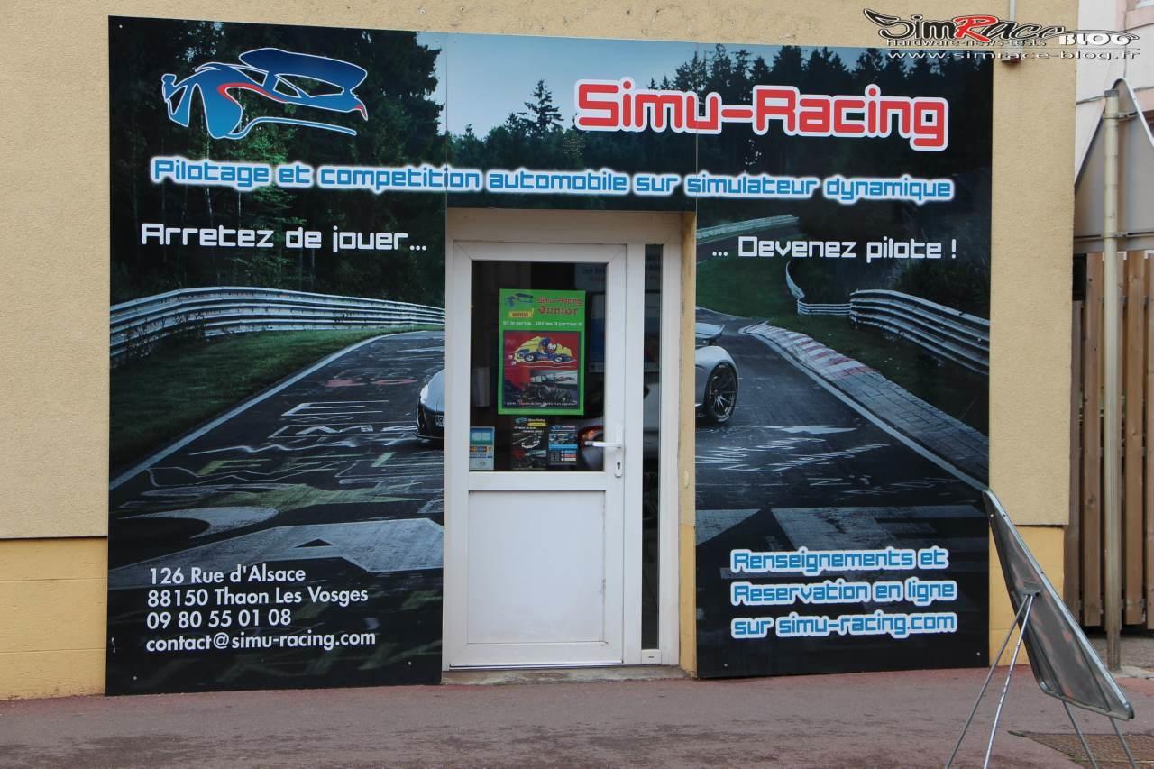 Visite chez Simu-Racing à Thaon-les-Vosges