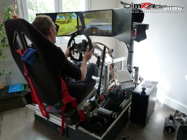 Le cockpit Spyder EVO-1 de NSH Racing-Product et autres productions