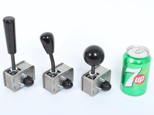 Les 3 configurations avec une canette pour se rendre compte de la taille