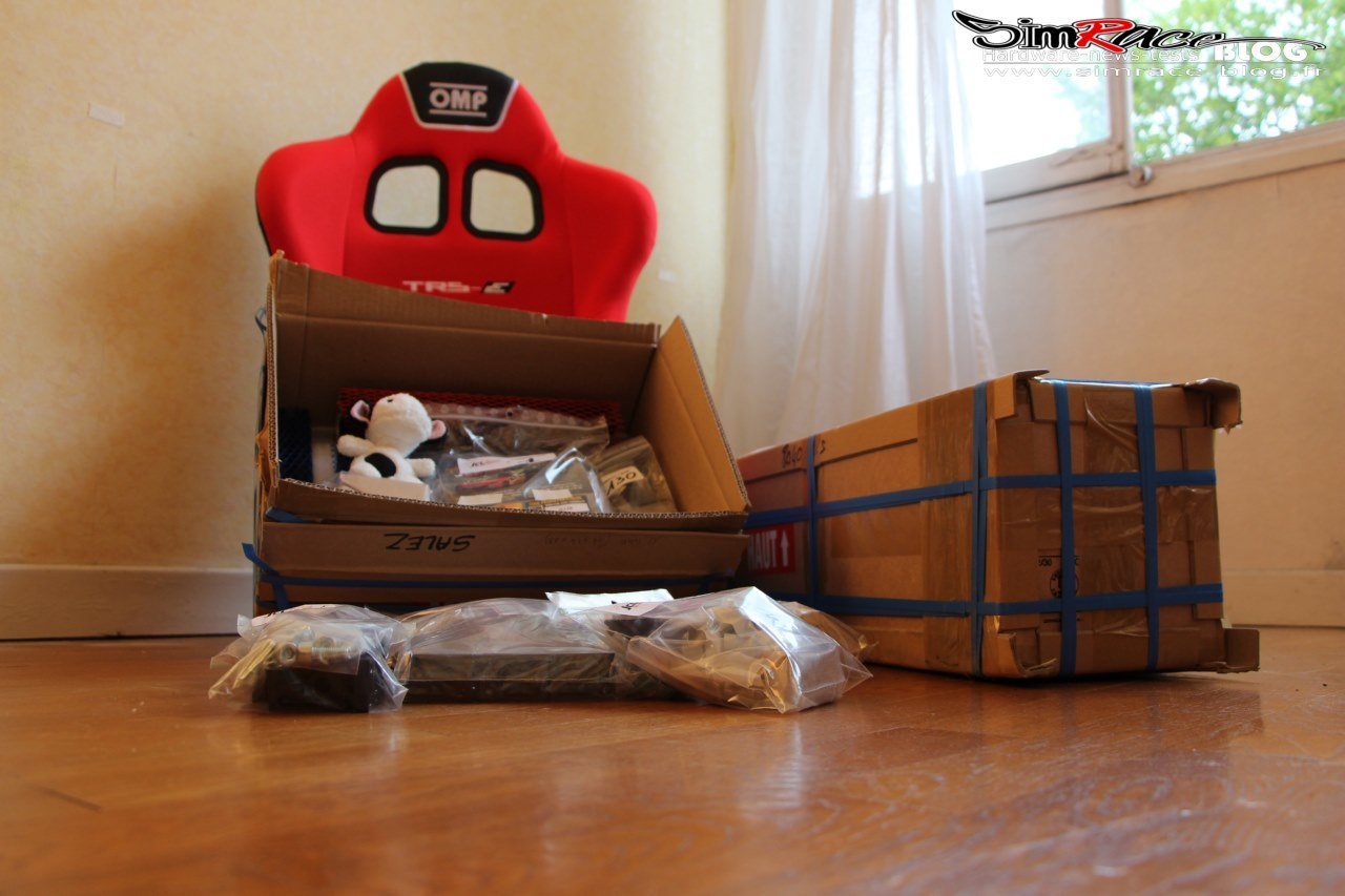 Unboxing et Montage du To Be Faster V2 de JCL Simracing