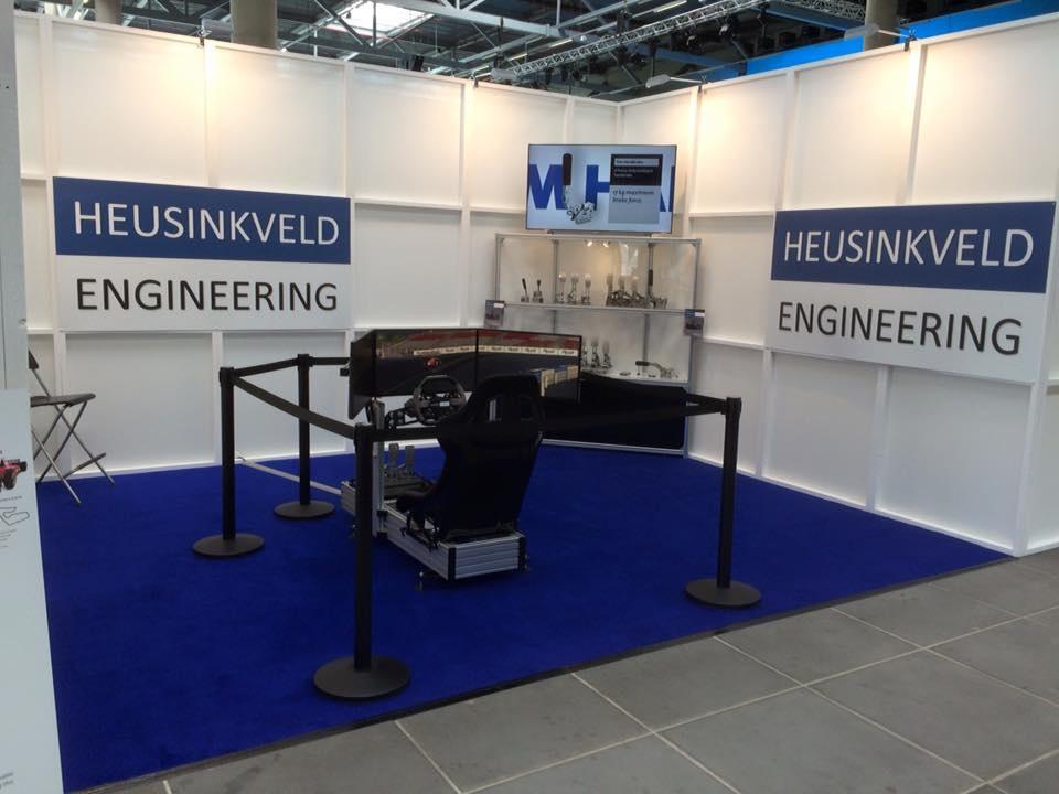Heusinkveld Engineering à la SIM Racing Expo 2016