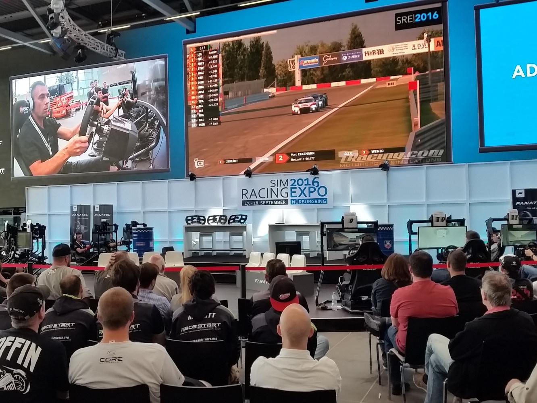 LIVE SIM à la Sim Racing Expo 2016
