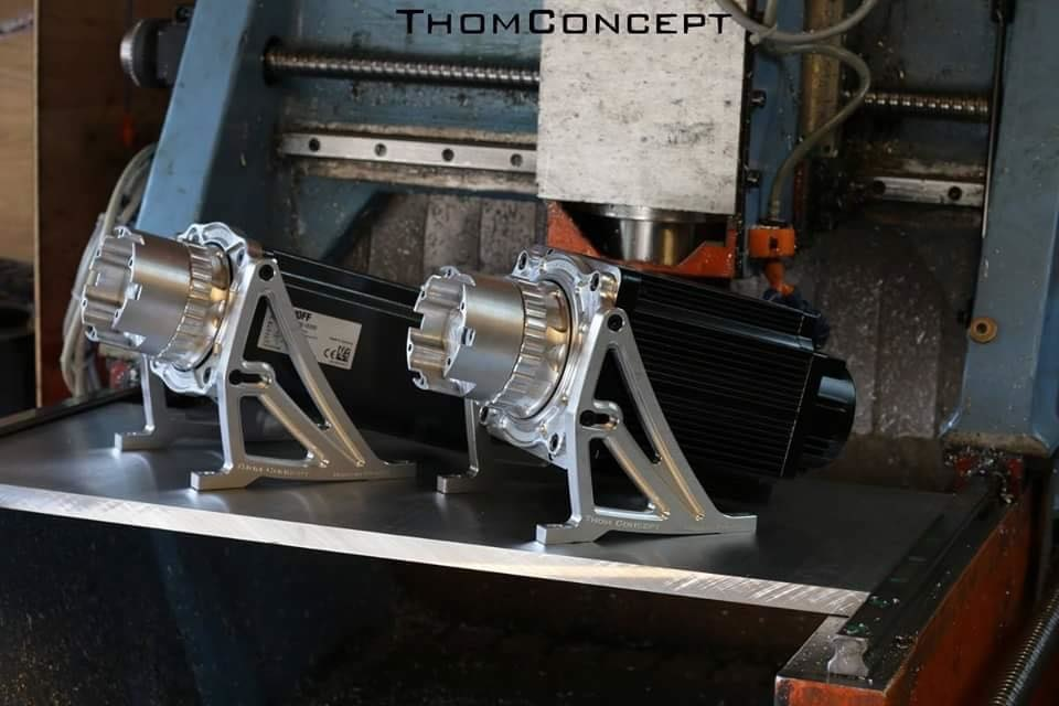 Unboxing et review du volant ThomConcept Sim Wheel par Franconen