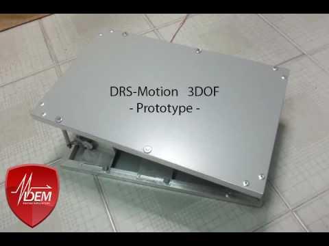 Plateforme 3 DOF de chez DEM Simulators