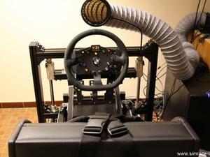 Cockpit JCL Simracing et siège Geko Systems