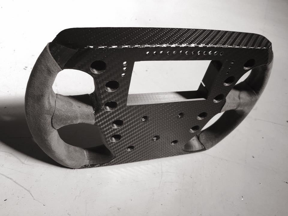 Un volant en impression 3D pour Frex