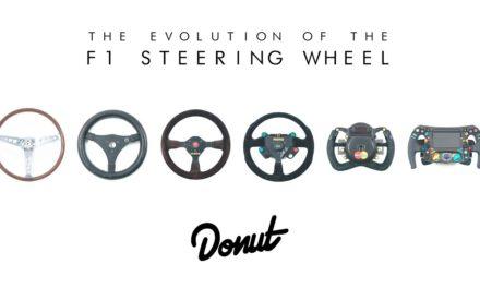 Evolution des volants de F1 en vidéo avec DONUT MEDIA