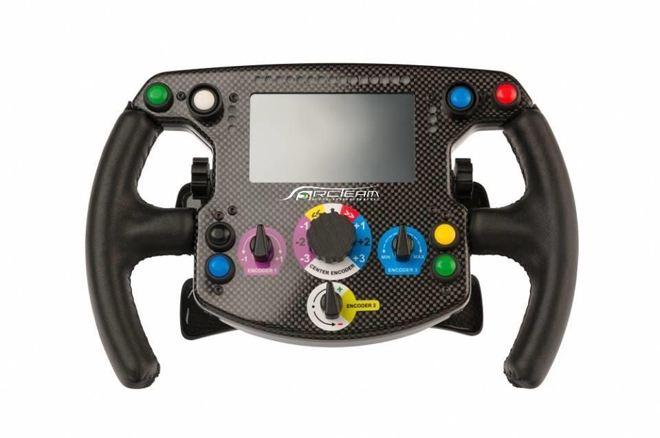 Volant F1 pour ARC-Team, C'est beau mais c'est pas tout !