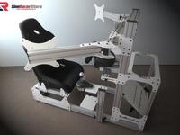 Le cockpit SRS GT Pro de chez SimRacerStore