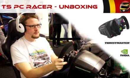 Découverte du Thrustmaster TS-PC Racer par Maxou Le Pilote