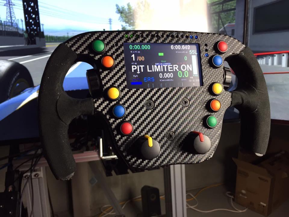 Le volant 3D de Frex se finalise