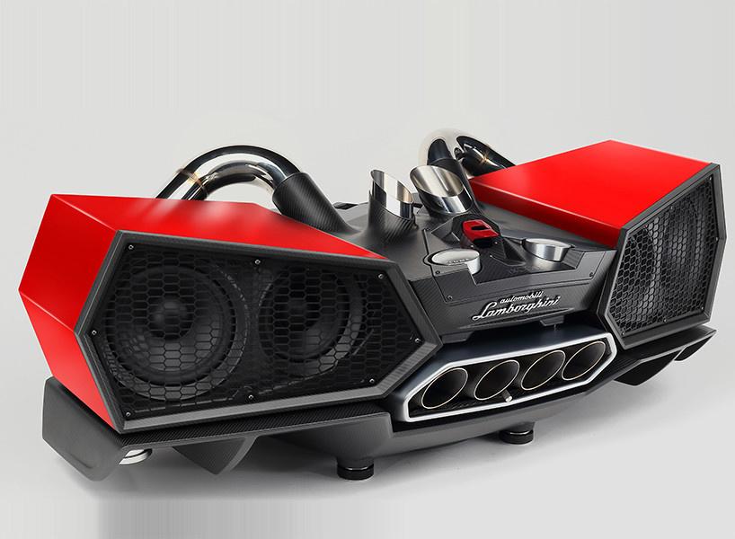 IXOOST ESAVOX, un système son très…Lamborghini.
