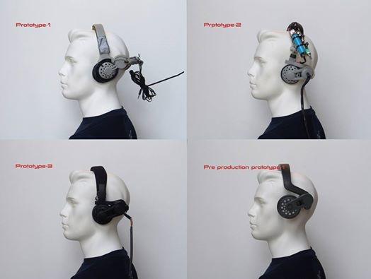 L'évolution du casque en 4 prototypes