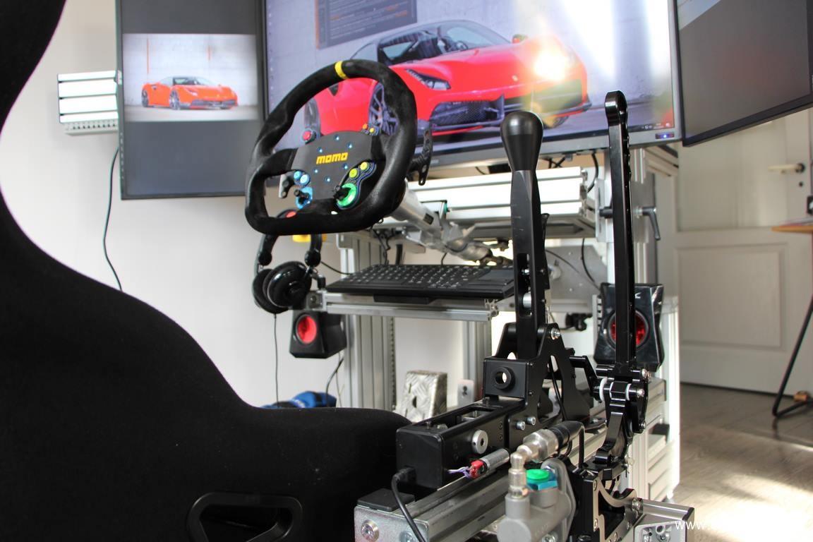Petit teasing de son shifter pour CarMan Simulatori et petite review pour moi