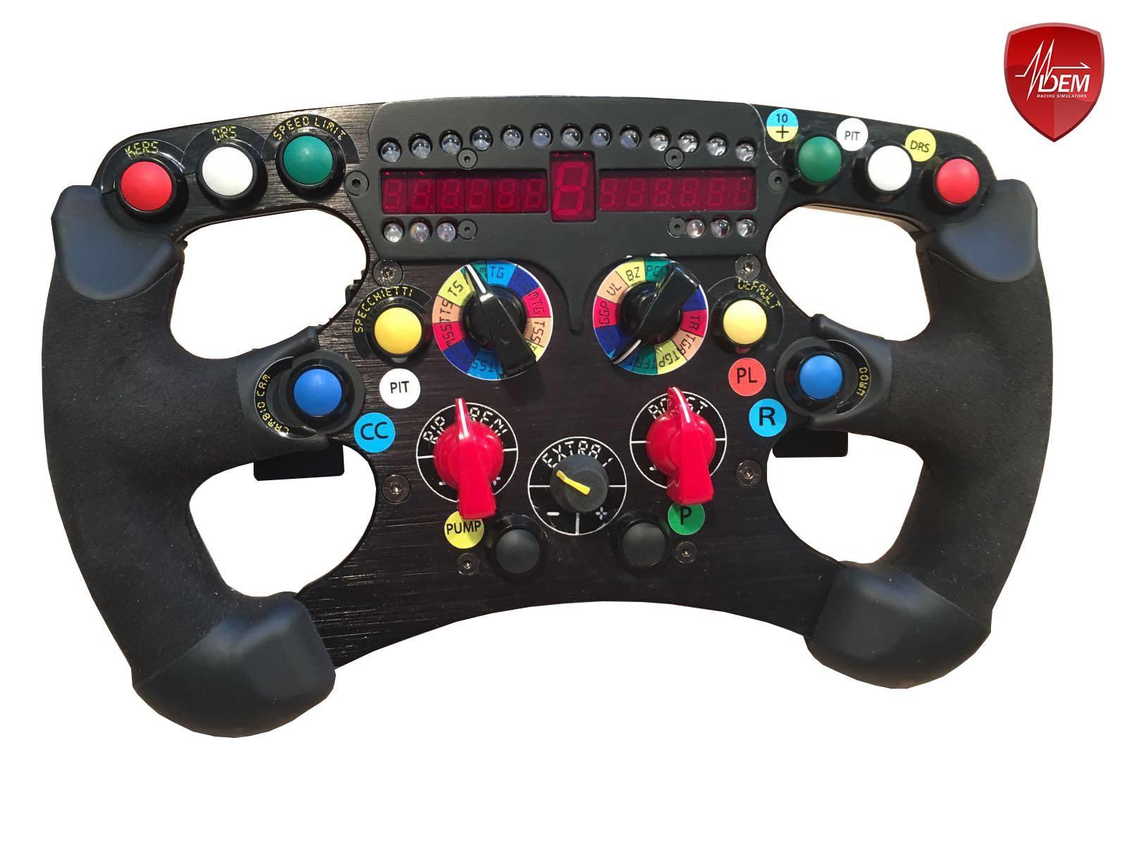 Mod DEM pour volant Fanatec Formula : le DRS Fanatec F1 Wheel