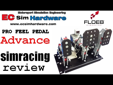 Review du Pédalier PRO Feel Pedal Advance par Floeb Simracing