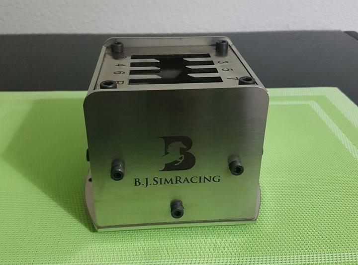 BJ Simracing nous présente son futur shifter : Enfin une nouvelle boite en H