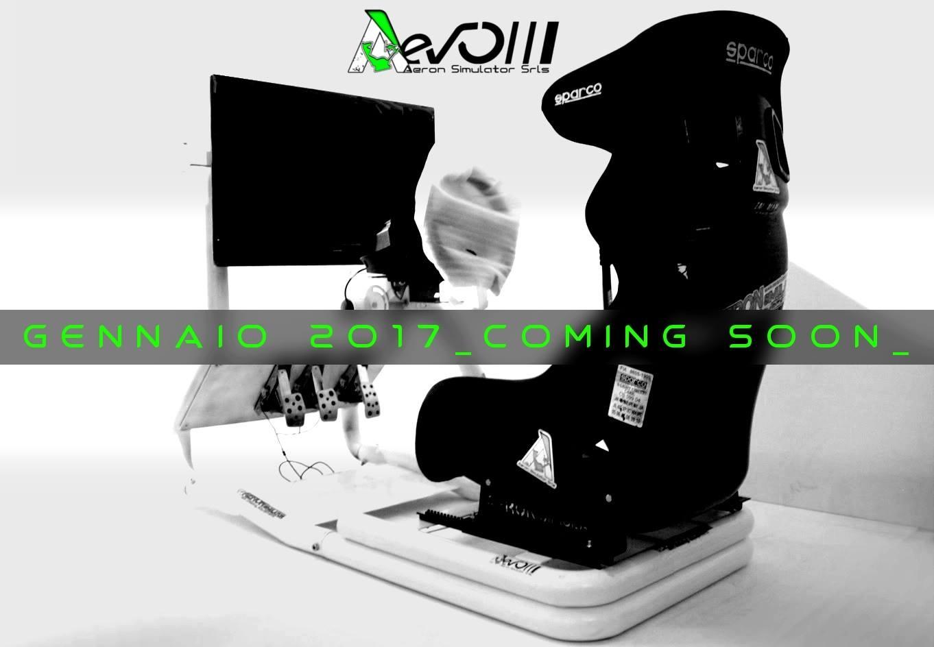 Cockpit Aeron Simulator à venir en 2017