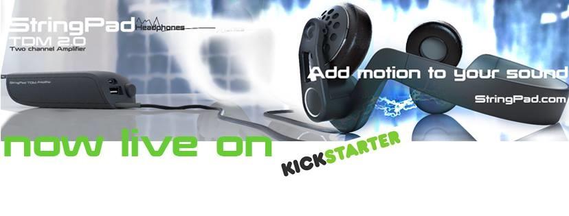 StringPad, le casque 4D motion simulator est sur KickStarter