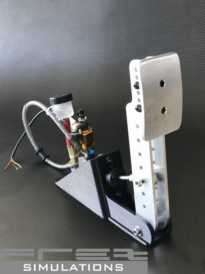 FREX présente sa nouvelle pédale de frein hydraulique