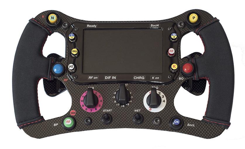 Volant F1 – SMRF1 par Speed Max Racing et 3DRap.it