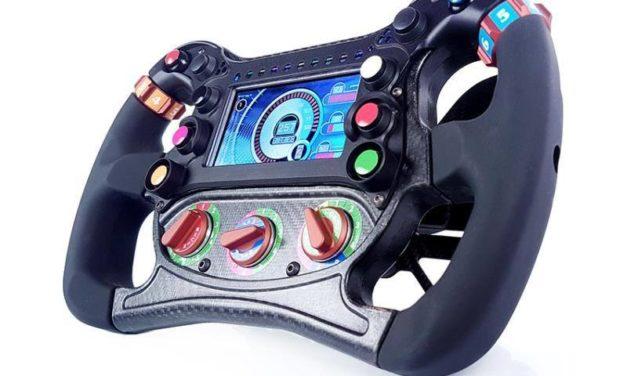 Un volant de Formula E pour CRUDEN