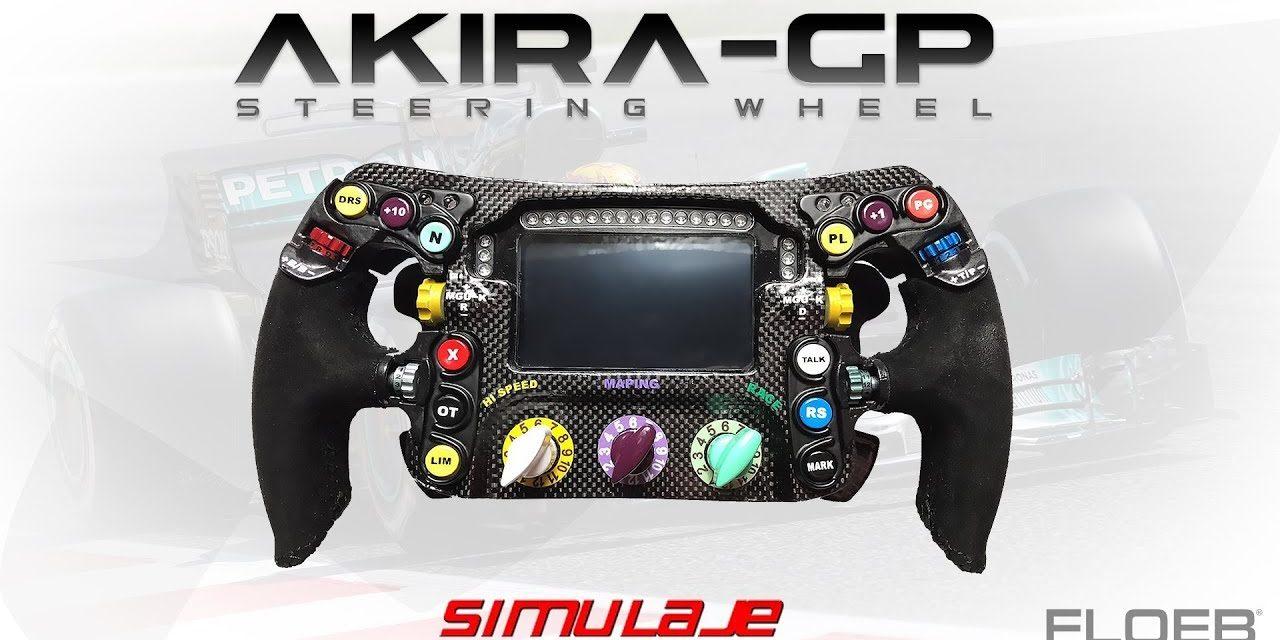 Review du volant Akira GP de chez SIMULAJE