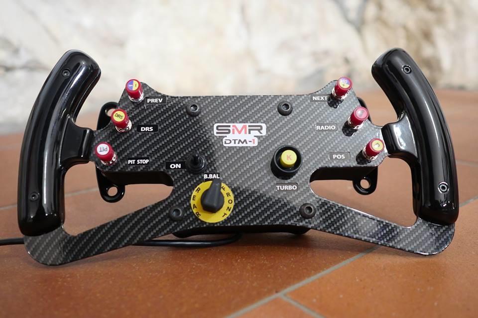 Speed Max Racing et 3DRap : nouvelle collaboration et nouveau volant GT/DTM