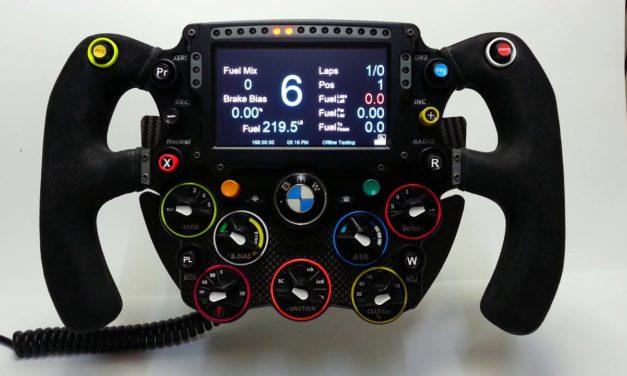 Volant F1 2016 par Leopoldo Ramirez