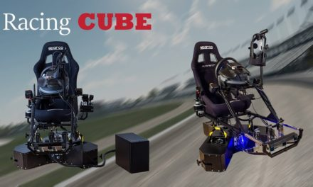 Simulateur Racing Cube, Fasetch dévoile la version RC4-4DOF