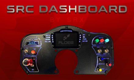 Review du dashboard SRC de la marque SRX par FLOEB