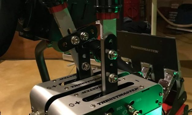 Un combiné Handbrake / Shifter pour Thrustmaster et Sparco : Le TSS
