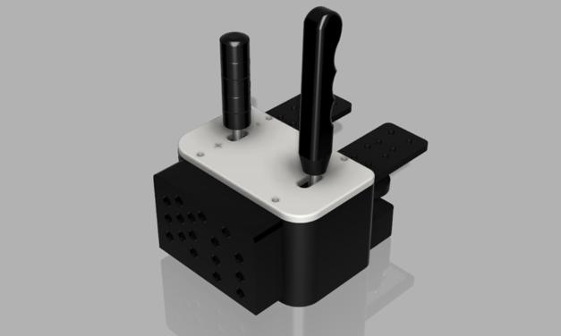 Shifter et Combo Shifter / Handbrake de 3D SIMRACING : Petite refonte bienvenue