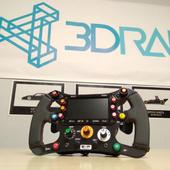 F1 Rim AddON Carbon Look - Logitech Thrustmaster - 3DRap & SpeedMaxRacing | eBay
