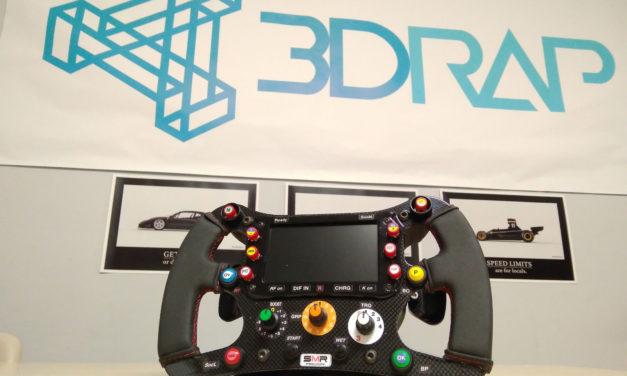 3DRap met un de ses volants aux enchères sur Ebay