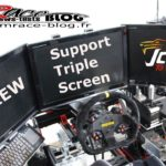 Review du support triple screen de JCL Simracing : Retour aux écrans ?