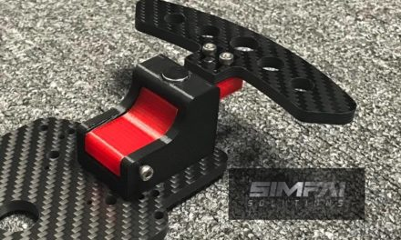 Paddle Shifter magnétique de SIMFAI SOLUTIONS : ESC Shifter