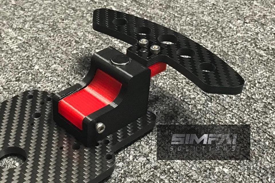 Paddle Shifter magnétique de SIMFAI SOLUTIONS : ESC Shifter