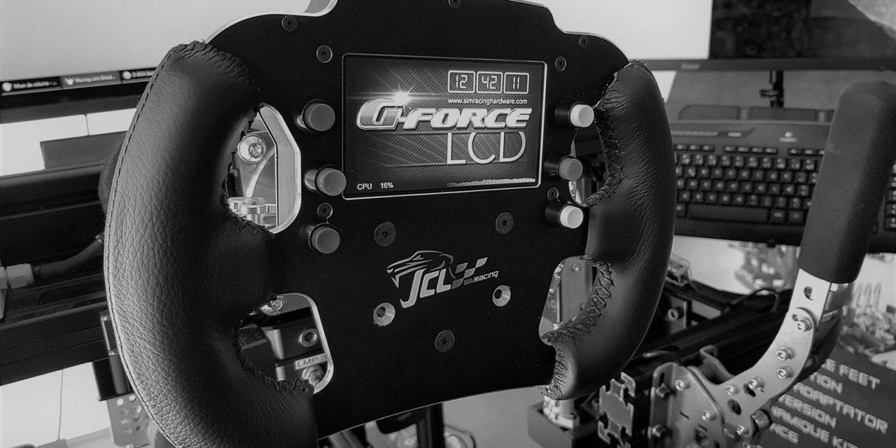 Jante de volant LMP3 en projet pour JCL Simracing, à découvrir en vidéo !