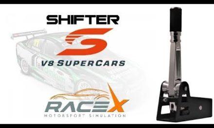 Shifter V8 SC de RaceX : La review de Floeb
