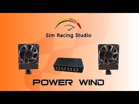 Ventilateur POWER WIND de Sim Racing Studio en review par FLOEB