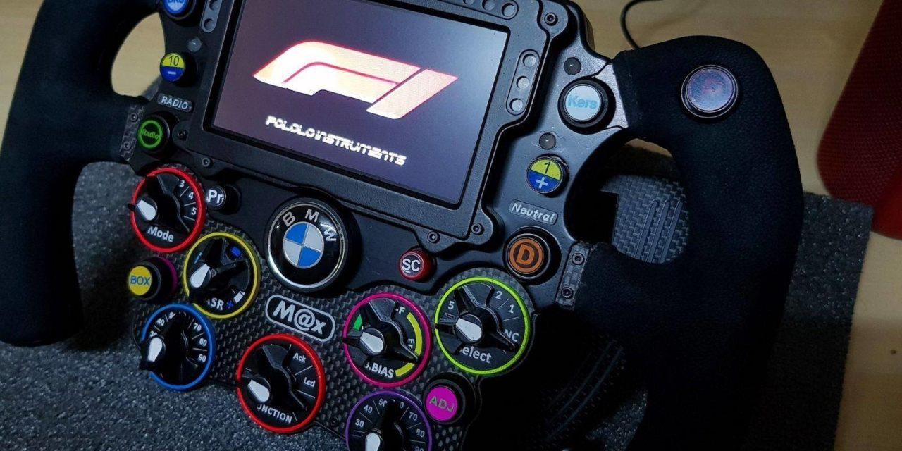 Nouvelle oeuvre de POLOLO INSTRUMENTS : Volant F1 2018