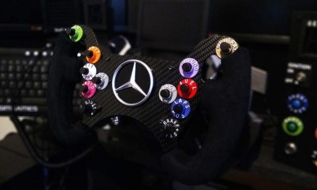 Volant Mercedes AMG GT3 par F1SIMGAMES