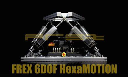 Le 6 DOF Motion par FREX : les kits sont disponibles