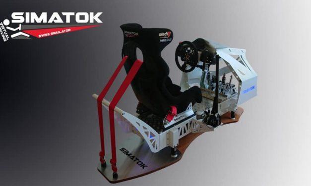 Nouveau Simulateur SIMATOK 4000 : une inspiration très racing