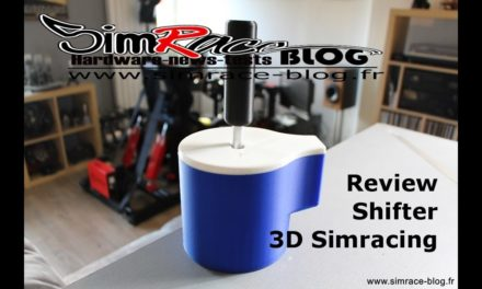 Review du shifter Séquentiel de 3D SIMRACING
