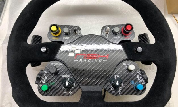 NSH Racing habille le volant Sparco P310